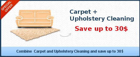 Carpet Cleaning + Upholstery Cleaning save up to 30$